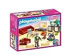 PLAYMOBIL Dollhouse 70207 Gemütliches Wohnzimmer, mit Lichteffekt, ab 4 Jahren