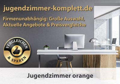 Jugendzimmer orange